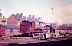 Henry de Lacy II Middleton Railway 29.09.1969 (Peke rail) Tags: steam locomotive middleton railway yard factory claytons leeds industrial sunshine ls11 1969