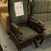 Mahogany rocking chair €120
