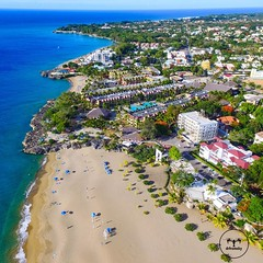 📷📷📷 by:  @imcasati  Location: Playa Alicia, Sosúa, Puerto Plata, Republica Dominicana  Dominican Republic from Sky!  ______________________________________  #playa #beach #sosua #puertoplata  ______________________________________ :he