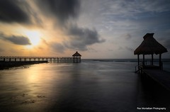 sunrise sunset (Rex Montalban Photography) Tags: sunset sunrise mexico pier playadelcarmen hdr mayanriviera rexmontalbanphotography