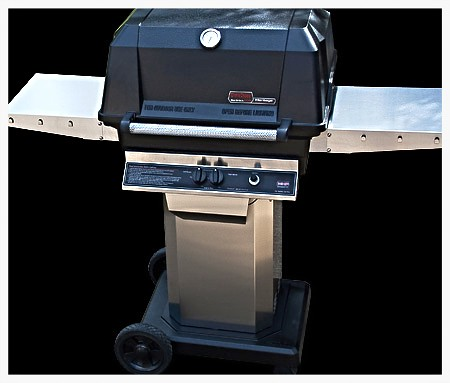 MHP WNK Grill on portable cart base