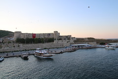 castle from the ferry (mdoughty68) Tags: castle turkey ancient turkiye historical bozcaada