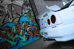 Skyline Pro (kyle_tremblay) Tags: beauty skyline rebel graffiti nissan fast loveit turbo import jdm drift gtt 780 yeg