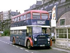 South Notts, Gotham: FRR87D at Nottingham Broadmarsh (Mega Anorak) Tags: nottingham bus albion lowlander lr3 northerncounties southnottsgotham
