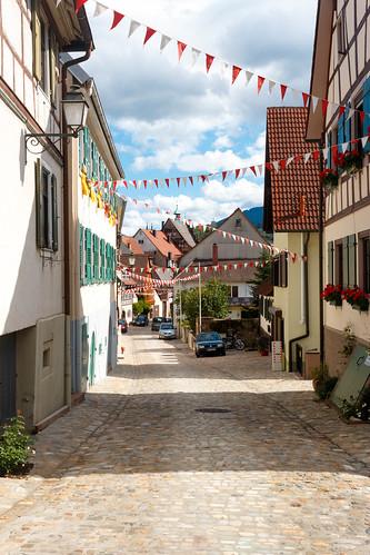 Ruelle à Gernsbach
