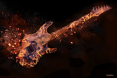Guitar World (SyK.PsyKeDeLic) Tags: world music art digital photoshop artist guitar surrealism digitalart surreal creation montage instrument photomontage syk monde universe surrealisme musique guitare artiste realisation univer univers surrealiste surreel artdigital psykedelic sykpsykedelic