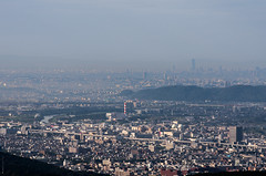 Seeing Osaka from Kyoto (nack74_sg) Tags: 京都 大文字山 遠景
