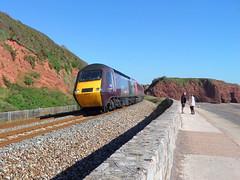 43357 Langstone Rock, Dawlish (Marky7890) Tags: train railway devon xc hst dawlish 43357 langstonerock 1v46