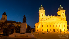 Protestant Great Church of Debrecen, Hungary with Lumix DMC-GX7