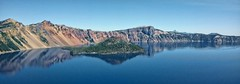 MS. MAJESTY (Irene2727) Tags: blue lake mountains nature reflections landscape volcano craterlake waterreflections lakescape coth5