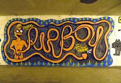 PieBoy (Georgie_grrl) Tags: streetart toronto ontario graffiti parkinggarage expression creative tagging ahem ohmy pieboy canonpowershotelph330hs mynewdarkpinkside adventureswithjan pieisntthefirstthingtocometomindhere