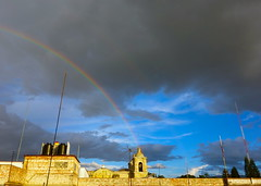 Strange Happenings (rasdiggity) Tags: church arcoiris mexico rainbow oaxaca happening