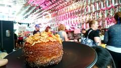 Zomg a Zonut! Strawberry granola zonut AUD5 - Zumbo, South Yarra (avlxyz) Tags: donut doughnuts fb5 cronut zonut