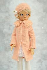 Outfit for Kaye Wiggs MSD (Maram Banu) Tags: hat doll handmade bjd layla cardigan sunkissed msd kayewiggs kazekids fairystyle marambanu