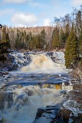 Beaver RIver Falls (Ebbs2) Tags: longexposure minnesota waterfall northshore mn lakesuperior beaverbay beaverriver canon7d tamronaf1750mmf28spxrdiiivc beaverriverfalls
