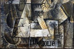 Picasso, Ma Jolie (detail)