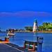 St Catharines Ontario  ~ Canada ~ Port Dalhousie Harbour ~ Landmark Light Houses