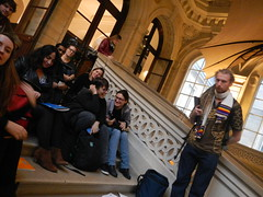 "EurovisionLab EMEEEurovision France. Two workshops at Centre Georges Pompidou and Musée des Arts et Métiers, 2nd December 2015. • <a style=""font-size:0.8em;"" href=""http://www.flickr.com/photos/109442170@N03/23297168840/"" target=""_blank"">View on Flickr</a>"