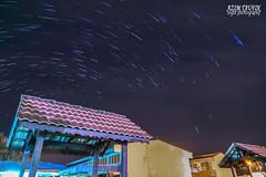 Celestial Arcs (Azim Taufik) Tags: longexposure canon eos star lowlight trails astrophotography malaysia pahang rm temerloh starstax triggertrap