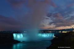 coloured lights in niagara falls (Rex Montalban Photography) Tags: niagarafalls rexmontalbanphotography