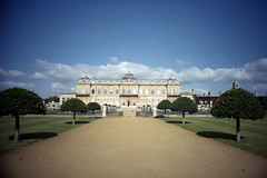 Wrest Park (pho-Tony) Tags: camera film rollei 35mm point shoot wide panoramic ishootfilm automatic prego r1 24mm ricoh compact micron 30mm englishheritage c41 ricohr1 filmisnotdead tetenal rolleipregomicron
