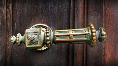 Door Handle - Frstengruft - WEIMAR - (music_px) Tags: doorhandle
