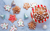 Gingerbread Christmas Tree Cookies Recipe (nattyspantry) Tags: christmas red food brown holiday love cookies recipe photography ginger photo yum candy joy warmth tasty ornament pastry cheer share celebrating foodie