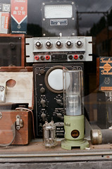 components and test equipment (losthalo) Tags: components testequipment vacuumtubes radio oscilliscope toshiba westinghouse electronics pentaxart superia itsnotacapture smcpm50mmf14 idaho