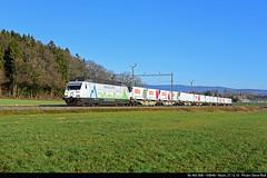 Re 465 008 Nyon, 27.12.16 (rodsteve232) Tags: re465 re465008 railcare coop nyon cran bls