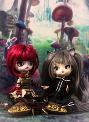 Friends? (twilitize) Tags: adorable adventure art awesome beautiful beauty cool cute canon cutie camera canonphotography dolls doll dolly dollphotography darling daring dal girl girls girly groove good gothic pullip pop pullips popular pullipphotography playtime photography