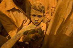 At Kolhapur (Ravikanth K) Tags: 500px pattan kodoli yatra kolhapur shri vitthal birdev annual portrait yellow people festival turmeric india finger