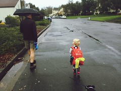 Full Length Childhood Outdoors Day People Rain Umbrella Backpack Red Little Girl Cute Child Elementary Age Father Family Blond Hair Little Black Dog Athletic Weather Walking Going Away Diminishing Perspective The Way Forward Three Friendship (made_maka) Tags: fulllength childhood outdoors day people rain umbrella backpack red littlegirl cute child elementaryage father family blondhair littleblackdog athletic weather walking goingaway diminishingperspective thewayforward three friendship