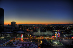 View From Room 31806 (Preston Ashton) Tags: lv lasvegas nevada evening night us usa states sunset desert gamble gambling hotel casino light lights prestonashton
