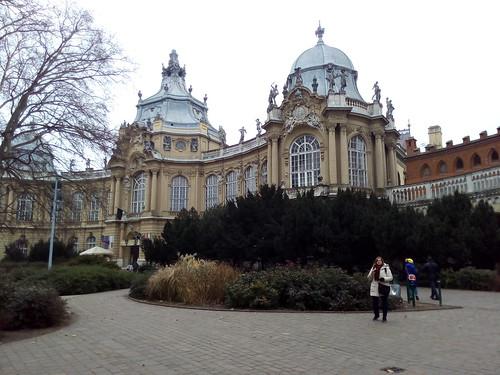 Parque em Budapeste