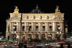 opéra Garnier - Paris (hervétherry) Tags: france iledefrance paris opéra garnier opéragarnier lumière light ville city nuit night rvt92