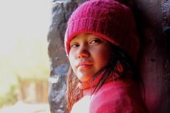 Nepal- Samar-Mustang (venturidonatella) Tags: nepal asia mustang ritratto portrait persone people sguardo look colori colors nikon nkond300 d300 hat emozioni children child bambino samar himalaya