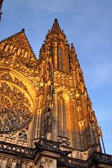 St. Vitus Cathedral, Prague (Yuri Rapoport) Tags: 2012 church stvituscathedral hradčany pražskýhrad praguecastle prague czechrepublic