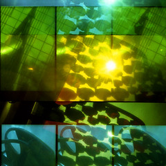 sunburst (pho-Tony) Tags: doubleexposure pop9 trilogy3d1000 supersampler colourfilters mixeddoubles fujirenshacardia toycameras triple quadruple multiple layer collage overlay accident serendipity chance filter multipleexposure 35mm 135 ishootfilm toy toycamera lomo lomography leefilters nimslo multiplelenses