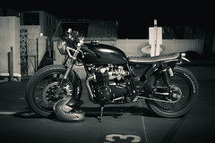 (M.Ewing) Tags: mike ewing photo photography canon 6d black white motorcycle vintage