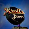 Kroll's (Pete Zarria) Tags: northdakota sign diner neon sky smallcity color outdoors 24hours eat burger fries malt