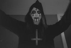 Hail Satan (diehesh) Tags: analog bw black white 400 iso 400iso