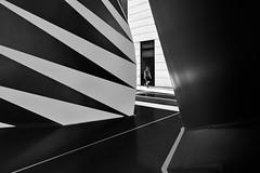 Walk On The Wild Side (TS446Photo) Tags: noiretblanc nikkor london street lines contrast walk stripes shapes zeiss