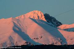 Gran Sasso - Snow sunset (Vicente Mavares) Tags: snow abruzzo gransasso neve laquila montagna