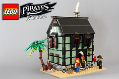 """Taverna"" (kr1minal) Tags: lego pirates tavern moc isle sandgreen barracuda"