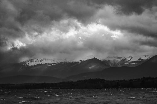 Stormy Lac Leman