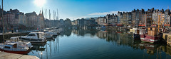 ... Honfleur ... (wolli s) Tags: honfleur normandie frankreich fr panorama panoramic port harbour f france stitched