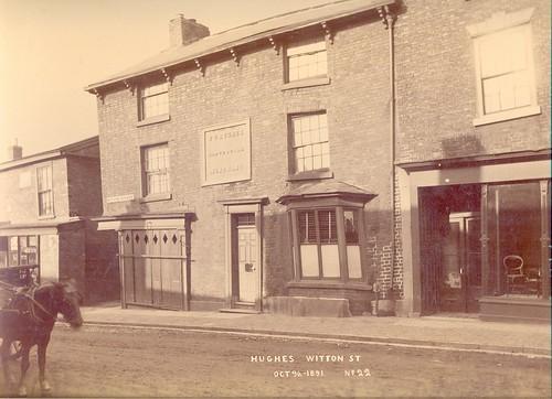 Thomas Caleb Hughes, slate & tile merchant, 49 Witton Street – 1891
