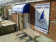 Italy, Rimini (shanelcuthbert) Tags: italy rimini windsurfing windsurfers sign club adriaticcoast emiliaromagna region
