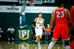 USF Basketball vs Pepperdine 108 (donsathletics) Tags: usf basketball jordan ratinho vs pepperdine university san francisco dons