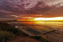 Merewether Wide Sunrise (Sterling67) Tags: merewether oceanbaths sunrise clouds dawn outdoor 1022mm